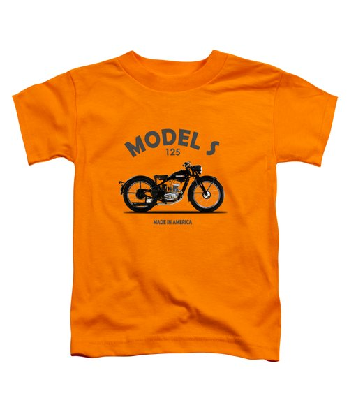 Harley-davidson Model S Toddler T-Shirt