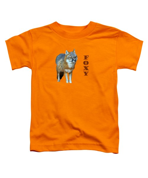 Foxy Toddler T-Shirt