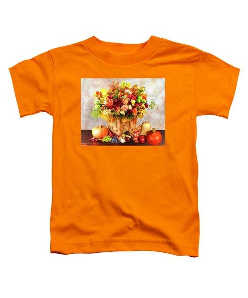 Autum Harvest Toddler T-Shirt