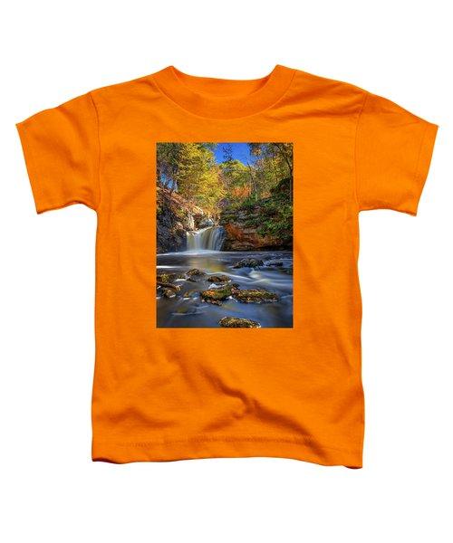 Autumn Day At Doane's Falls Toddler T-Shirt