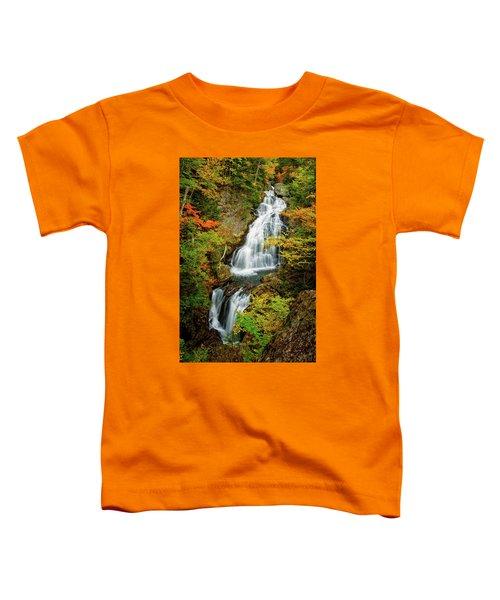 Autumn Falls, Crystal Cascade Toddler T-Shirt