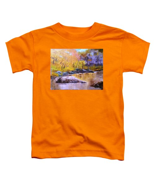 Autumn In New Hampshire Toddler T-Shirt
