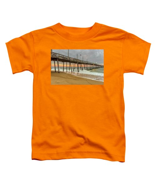 Avalon Pier - Kill Devil Hills Nc Toddler T-Shirt