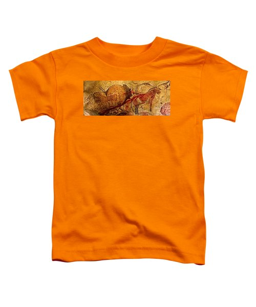 Bison Horse And Other Animals Closer - Narrow Version Toddler T-Shirt