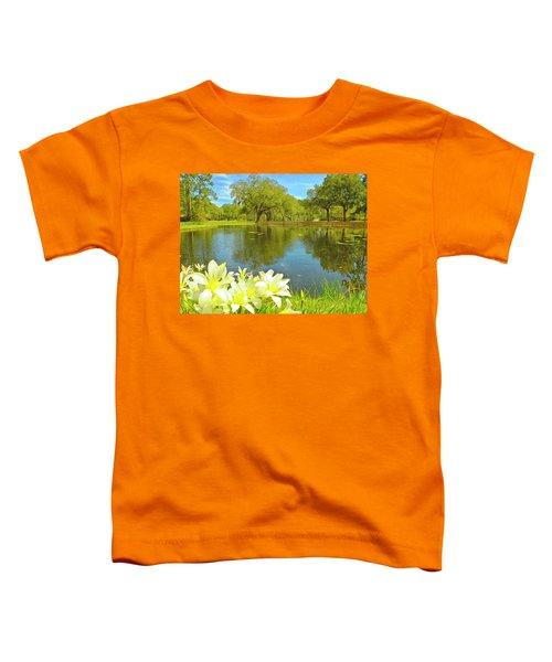 Botanical Gardens Pond Toddler T-Shirt