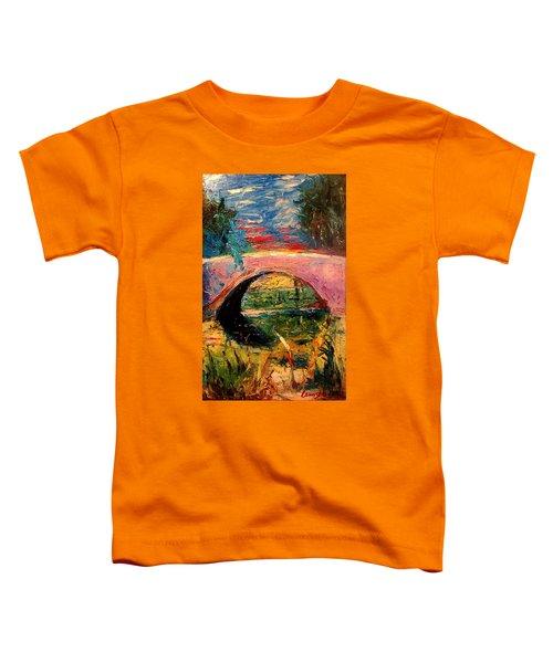 Bridge At City Park Toddler T-Shirt
