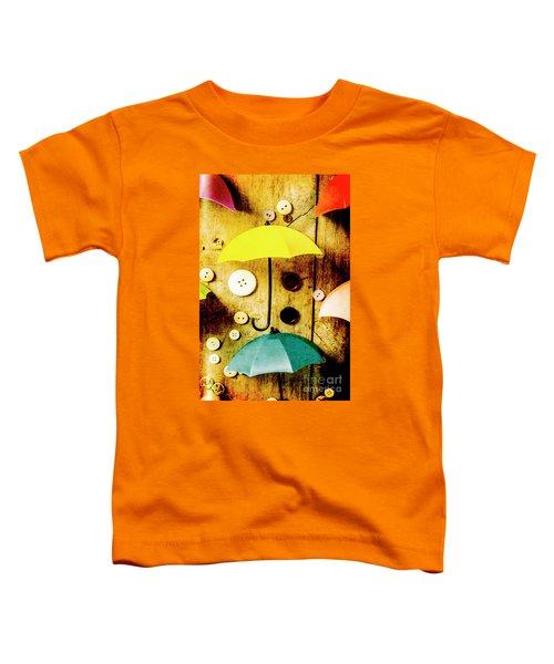 Button Storm Toddler T-Shirt