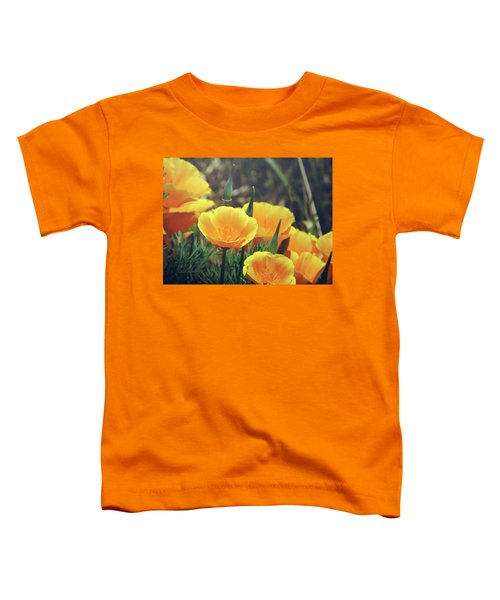 Californian Poppies In The Patagonia Toddler T-Shirt