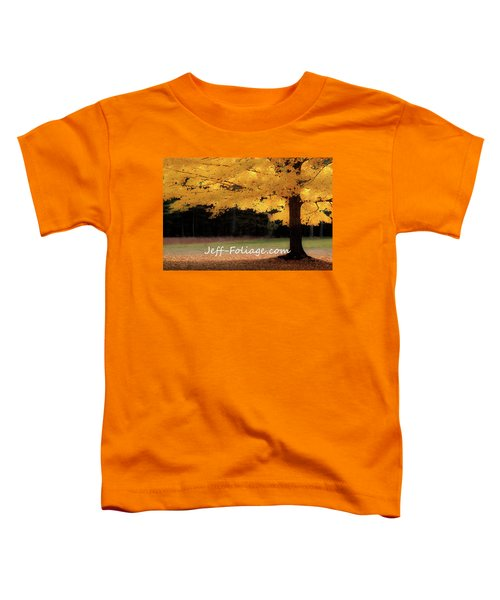 Canopy Of Gold Fall Colors Toddler T-Shirt