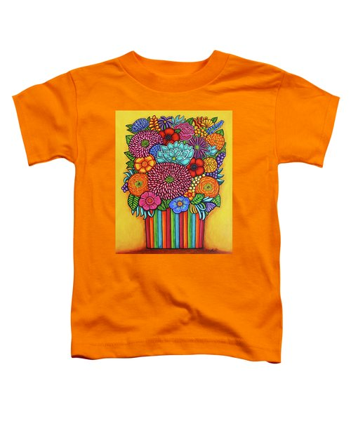 Celebration Bouquet Toddler T-Shirt
