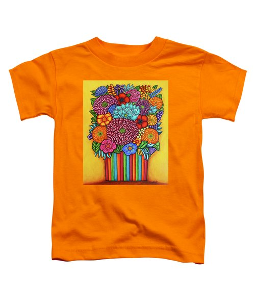 Celebration Bouquet Toddler T-Shirt
