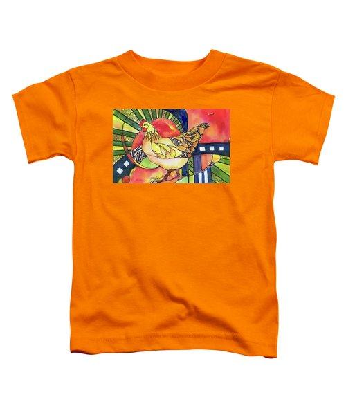 Chicken Red Toddler T-Shirt