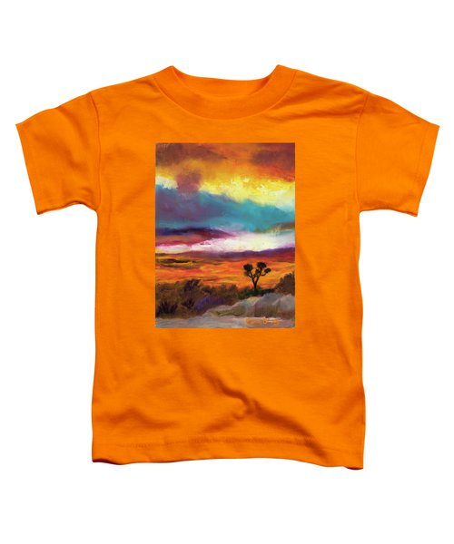 Cindy Beuoy - Arizona Sunset Toddler T-Shirt
