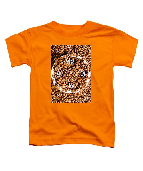 Coffee Time Toddler T-Shirt
