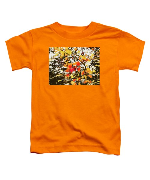 Colourful Leaves Toddler T-Shirt