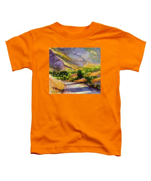 Columbia County Backroads Toddler T-Shirt