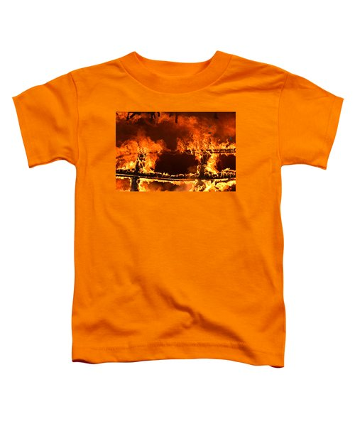 Toddler T-Shirt featuring the photograph Consumed by Carl Young