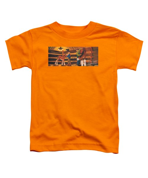 Cricket And Ginger Toddler T-Shirt