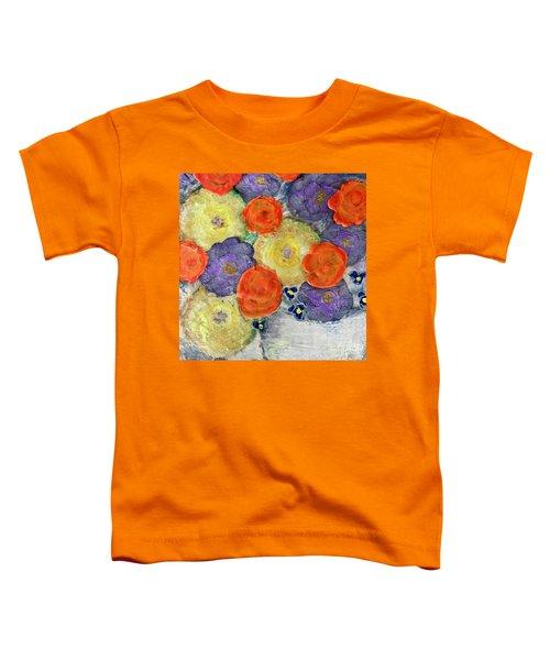Crochet Bouquet Toddler T-Shirt