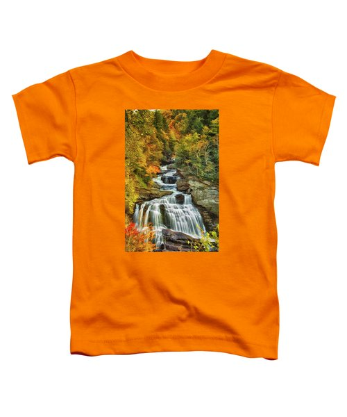 Cullasaja Falls Toddler T-Shirt