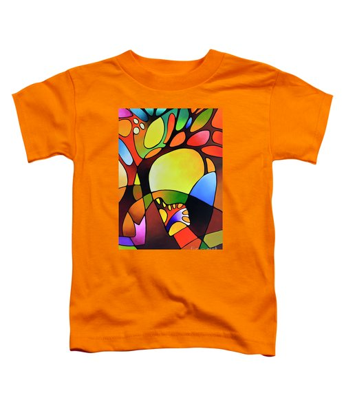 Daydream Canvas Three Toddler T-Shirt