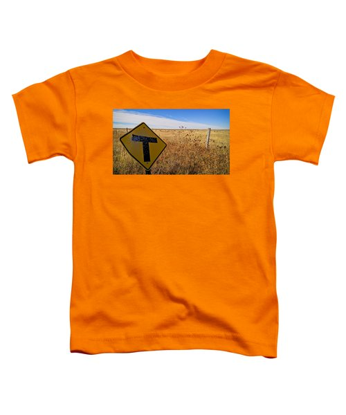 Toddler T-Shirt featuring the photograph Decision Time by Carl Young