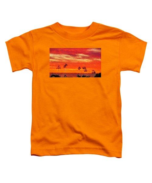 Del Mar Sunset Toddler T-Shirt