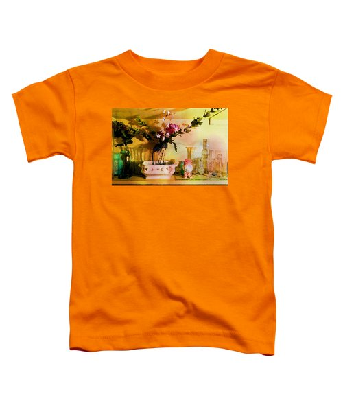 Delicate Flowers Toddler T-Shirt