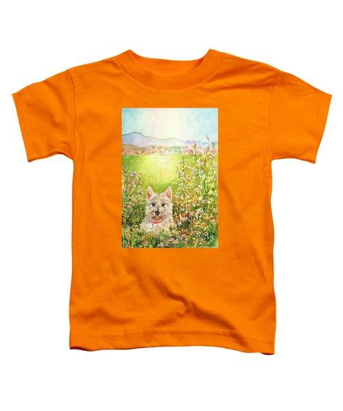 Doggie Heaven Toddler T-Shirt