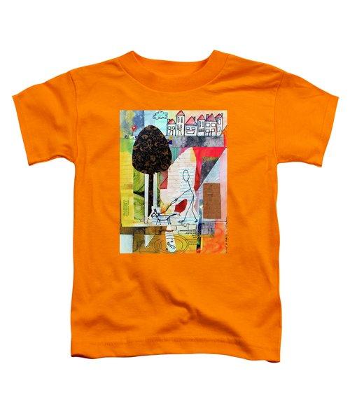Doggie Walk Toddler T-Shirt