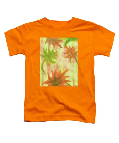 Fanciful Fall Leaves Toddler T-Shirt