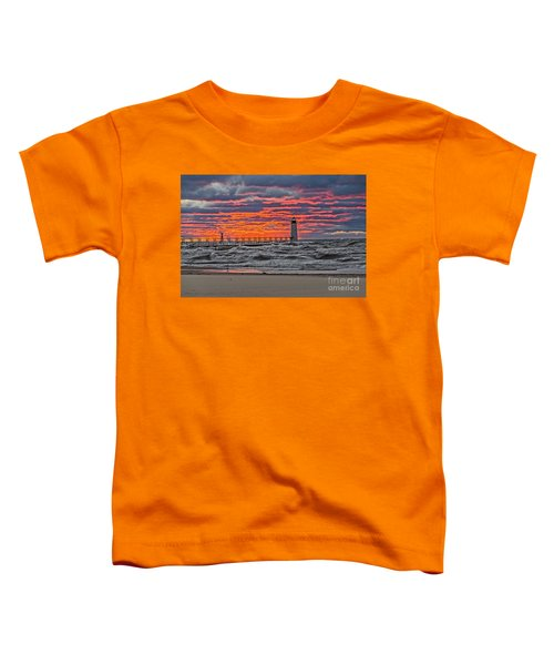 First Day Of Fall Sunset Toddler T-Shirt