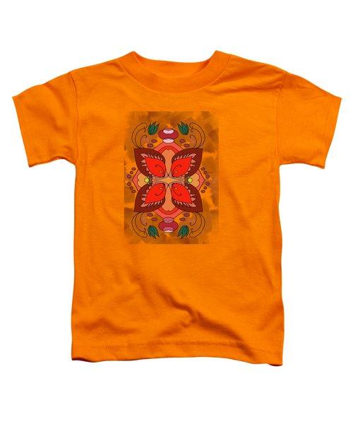 Floral Illusion Toddler T-Shirt