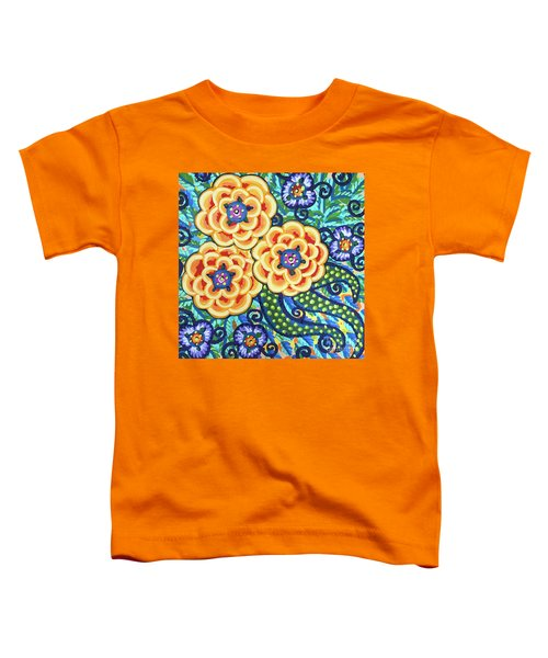 Floral Whimsy 9 Toddler T-Shirt