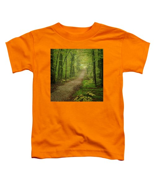 Foggy Path Toddler T-Shirt
