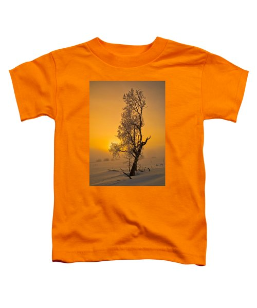 Frosted Tree Toddler T-Shirt