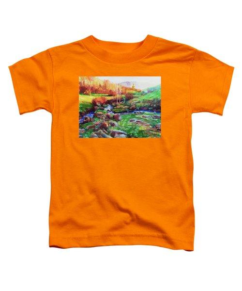 Gilded Hillside Toddler T-Shirt