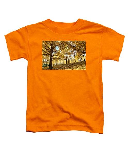Ginkgo Grove Toddler T-Shirt