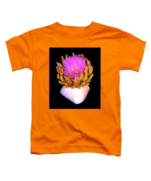 Gold And Pink Toddler T-Shirt