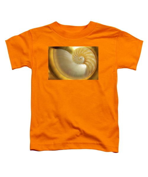 Golden_nautilus_0692 Toddler T-Shirt