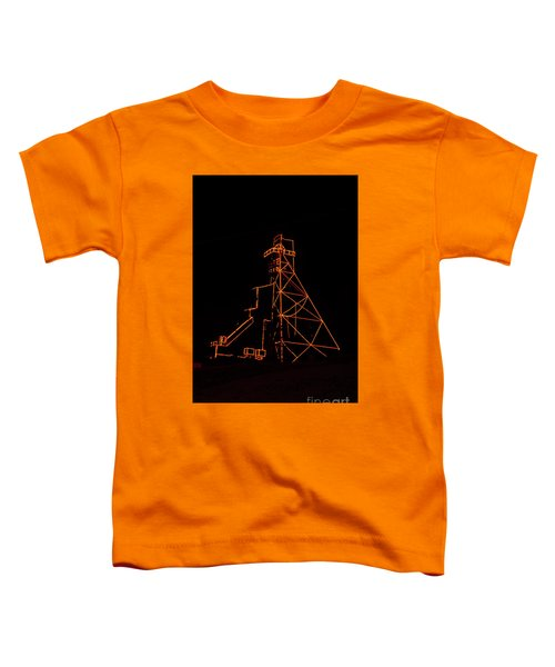 Headframe Lit For The Holidays Toddler T-Shirt