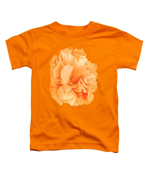 Hibiscus Rosa Double Petaled Yellow Toddler T-Shirt