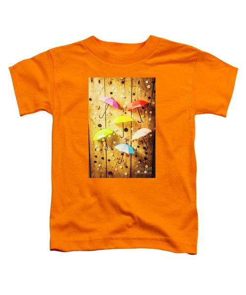 In Rainy Fashion Toddler T-Shirt