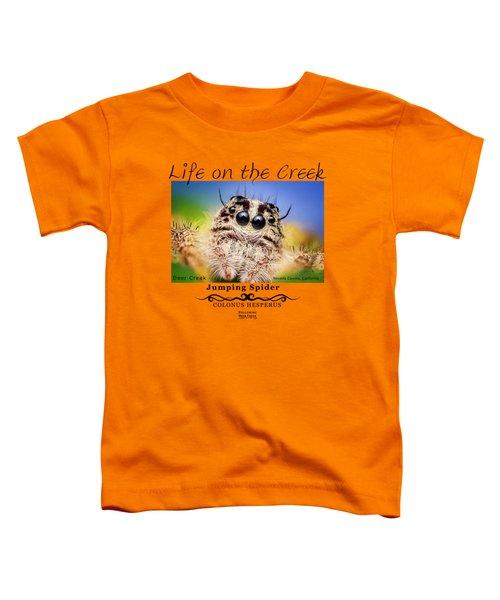 Jumping Spider Colonus Hesperus Toddler T-Shirt