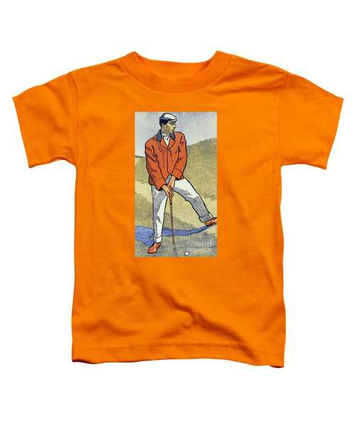 June, July, Detail From 1931 Golfing Calendar Toddler T-Shirt