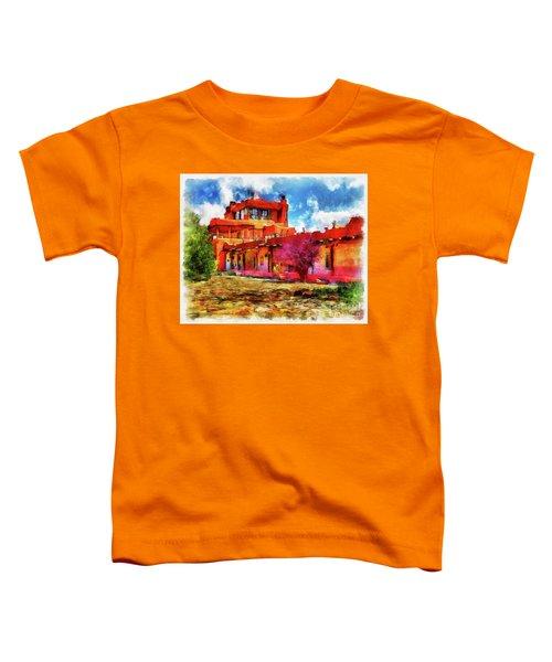 Mabel's Courtyard In Aquarelle Toddler T-Shirt