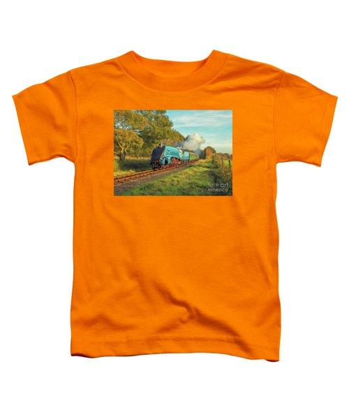Mallard Steam Locomotive Toddler T-Shirt