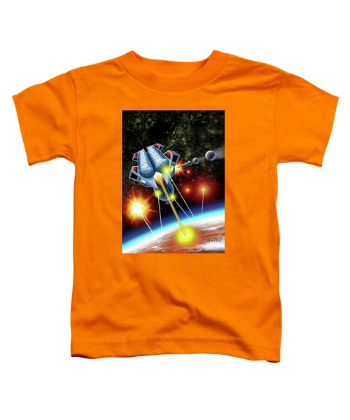 Mangle Atacks Nisip Toddler T-Shirt