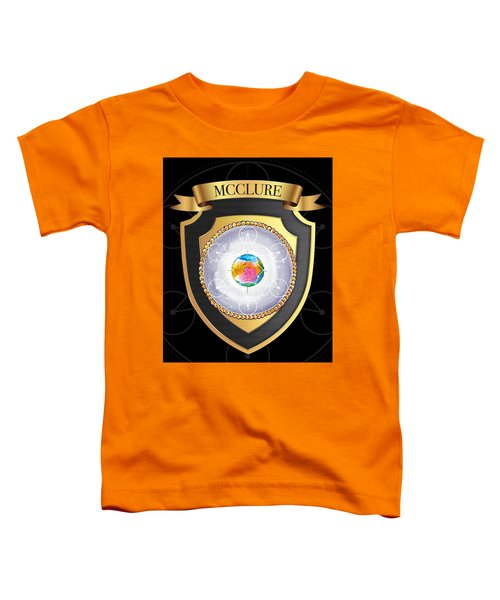 Mcclure Family Crest Toddler T-Shirt