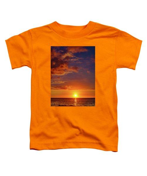 Monday Sunset Toddler T-Shirt